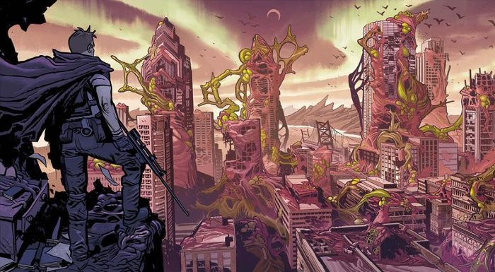 extrait du comics Oblivion Song Robert Kirkman