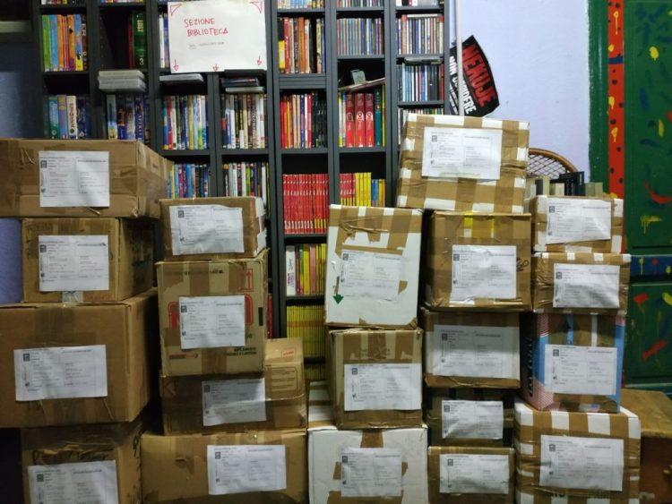 Book-Cycle associazione e libreria a offerta libera a Roma
