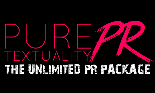 Pure Textuality PR Service Graphic - Unlimited PR Package