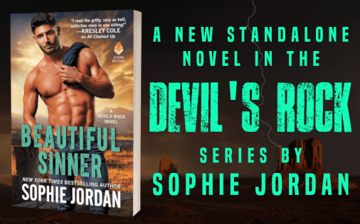 Promo Graphic - Beautiful Sinner by Sophie Jordan - 1
