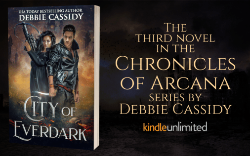 Promo Graphic - City of Everdark by Debbie Cassidy - 1