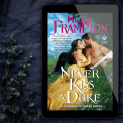 Promo Graphic - Never Kiss a Duke by Megan Frampton - 15
