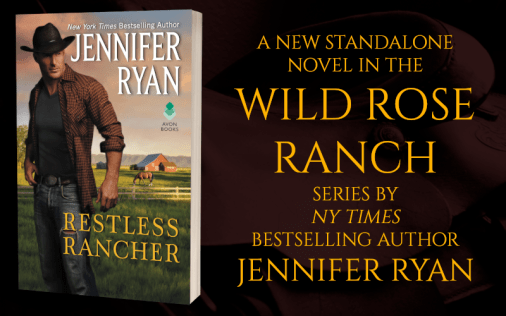 Promo Graphic - Restless Rancher by Jennifer Ryan - 1