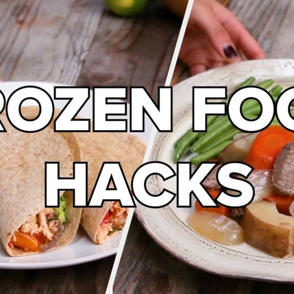 Homemade Frozen Food Recipes