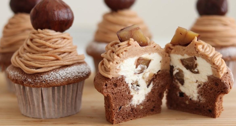 Mont Blanc Cupcake