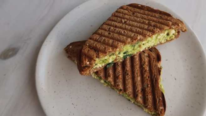 Grilled Avocado Sandwich