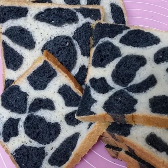 Cow Print Loaf