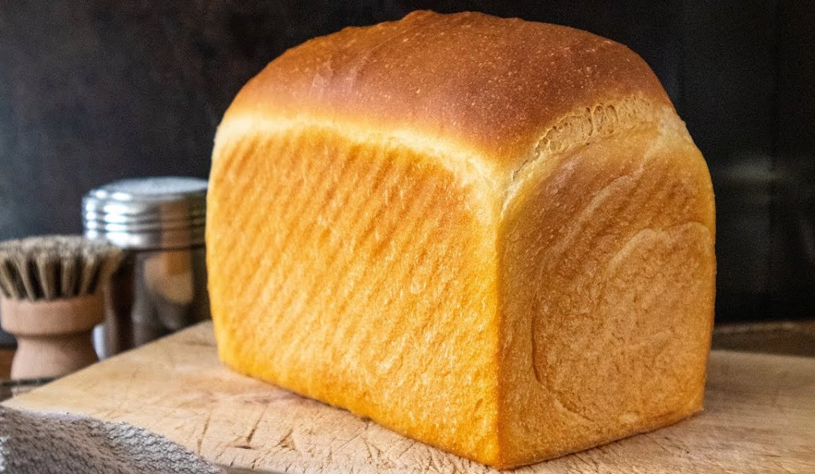 Easy bakery style homemade sandwich bread with all-purpose flour