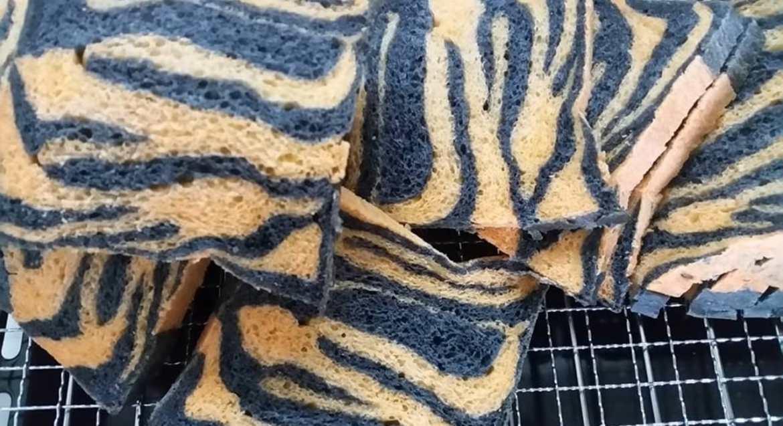 Tiger Print Milk Loaf (Tigger Bread)