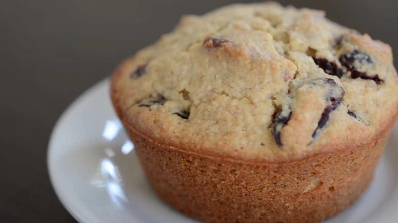 cranberry orange pecan muffins (vegan & gluten-free)