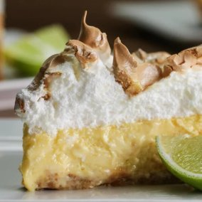 Key Lime Pie With Toasted Marshmallow Meringue