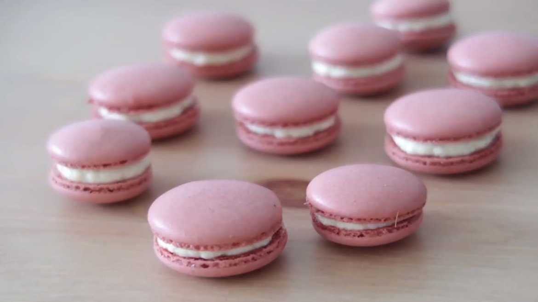 Macarons Italian Technique