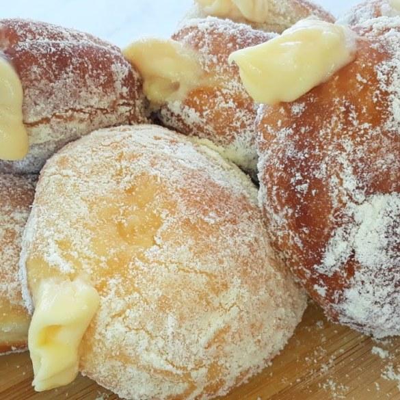 No-Bake Custard Cream Donut Recipe
