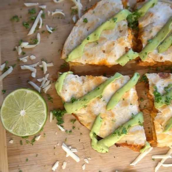 Cheesy Chicken Quesadilla Recipe