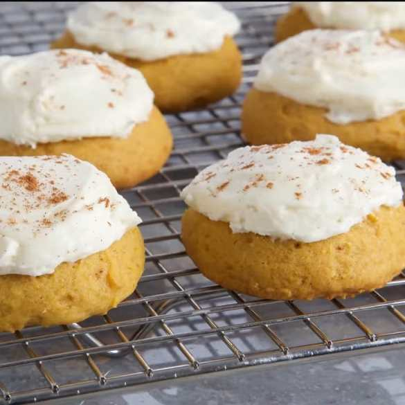 Pumpkin Spice Cake Cookies, Baked by Anna Olson