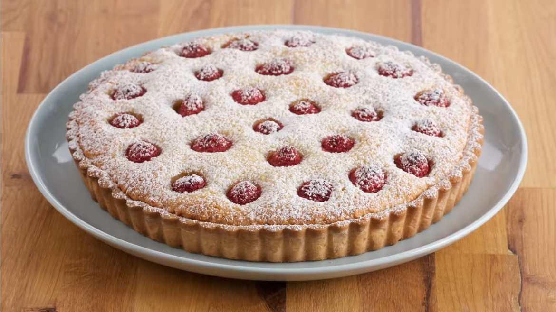 Raspberry Tart, Baked by Anna Olson