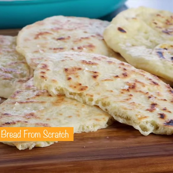 Anna Makes Naan Bread From Scratch
