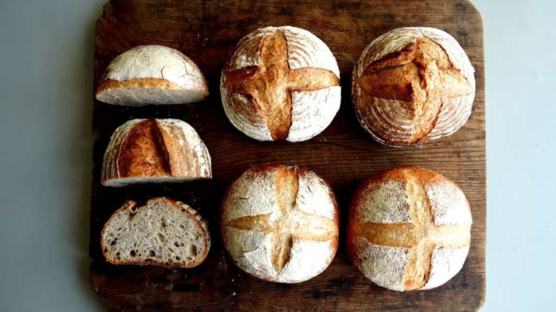 Country bread - hand knead bread recipe