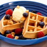 Anna Makes Delicious MAPLE WAFFLES