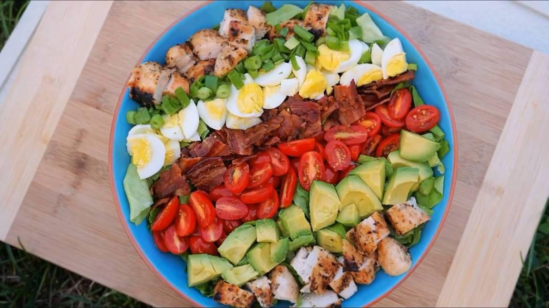 Cobb-Salad-Recipe-Creamy-Blue-Cheese-Dressing