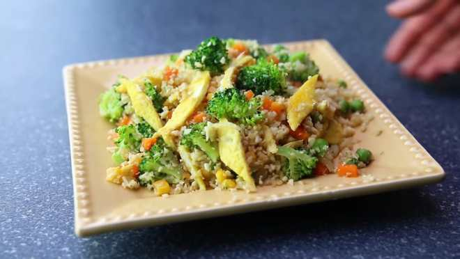 cauliflowerrice recipe