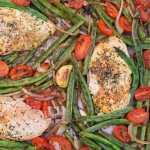 One-Pan Tuscan Chicken & Veggies