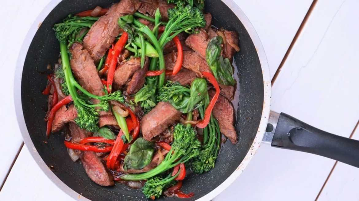 Thai Beef and Basil Stir Fry