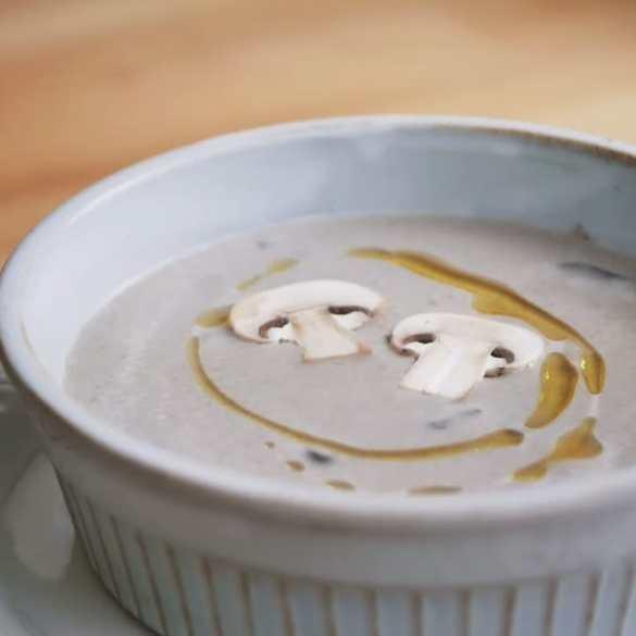 Classic French Mushroom Soup Recipe: easy & Gluten-Free comfy food