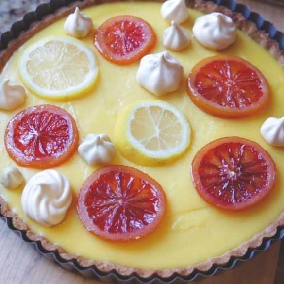 I Made My Favorite Lemon Meringue Tart From Scratch
