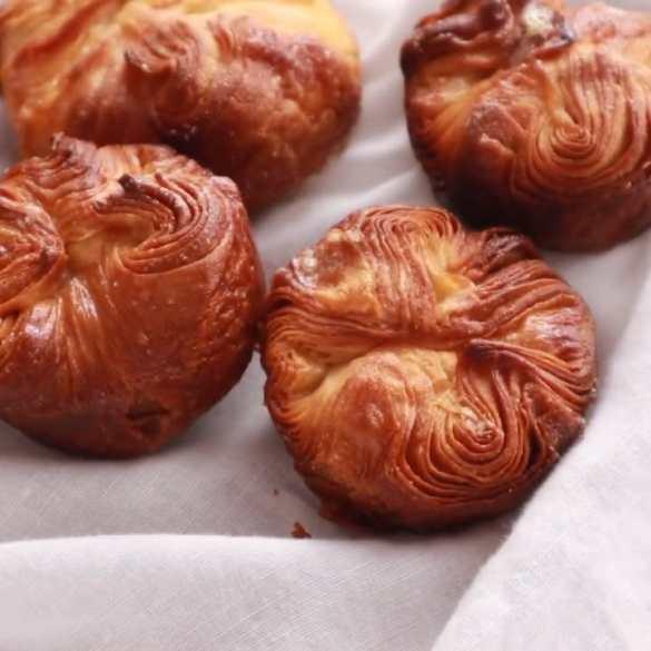 Kouign Amann (The Crispy Croissant Pastry)
