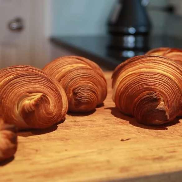 Make bakery-quality croissants at home using plain flour