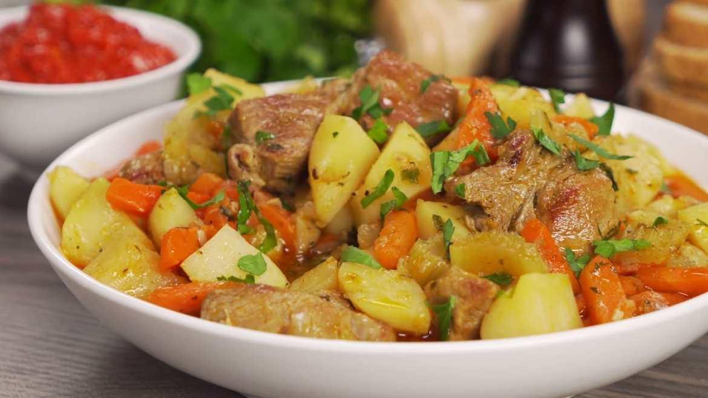 One-Pot Hearty PORK STEW Recipe | Homestyle Pork & Root Vegetable Stew