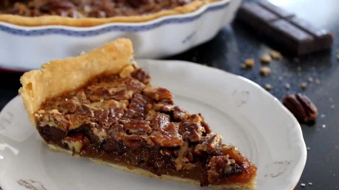Pecan pie with chocolate Recipe