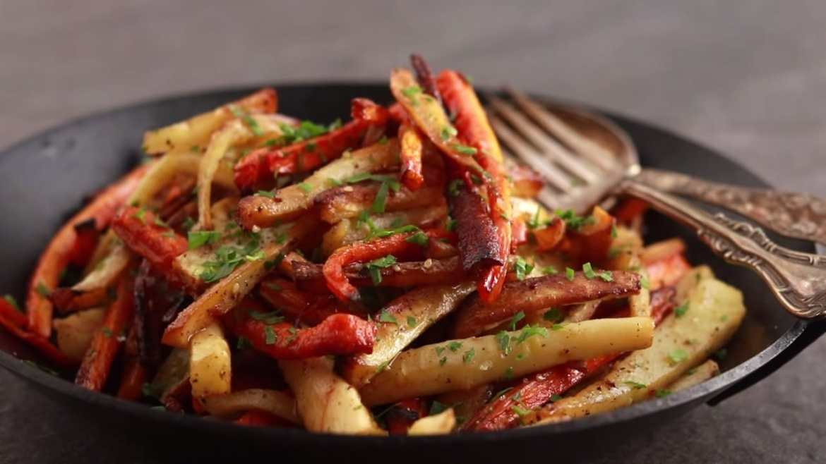 """Parsnip and Carrot """"Fries"""""""