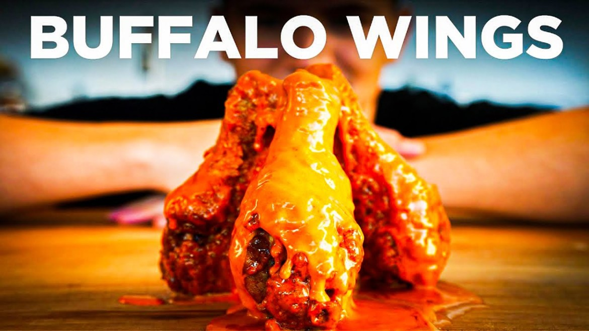 Buffalo Chicken Wings (made by Nick DiGiovanni)