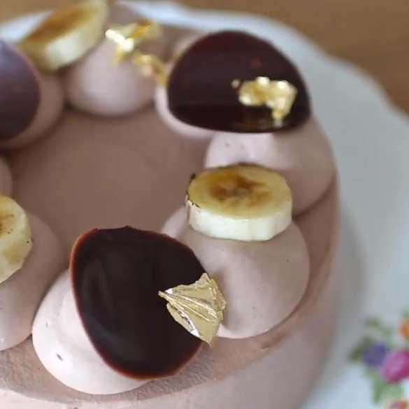 Flourless Chocolate banana Cake