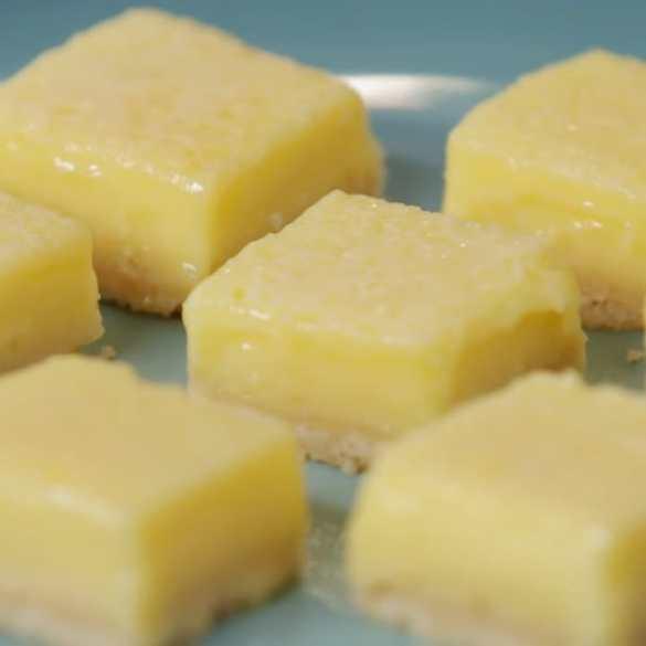 Let's Bake Lemon Squares for a Family Celebration