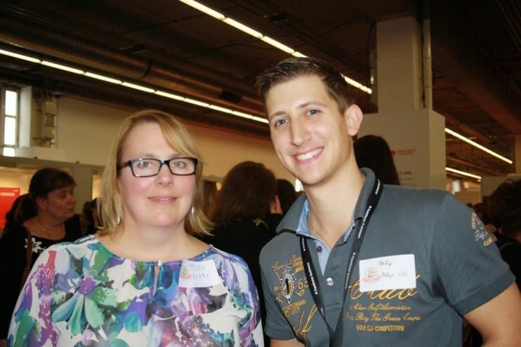Teri Terry und ich auf der vergangenen Buchmesse in Frankfurt im Jahr 2014