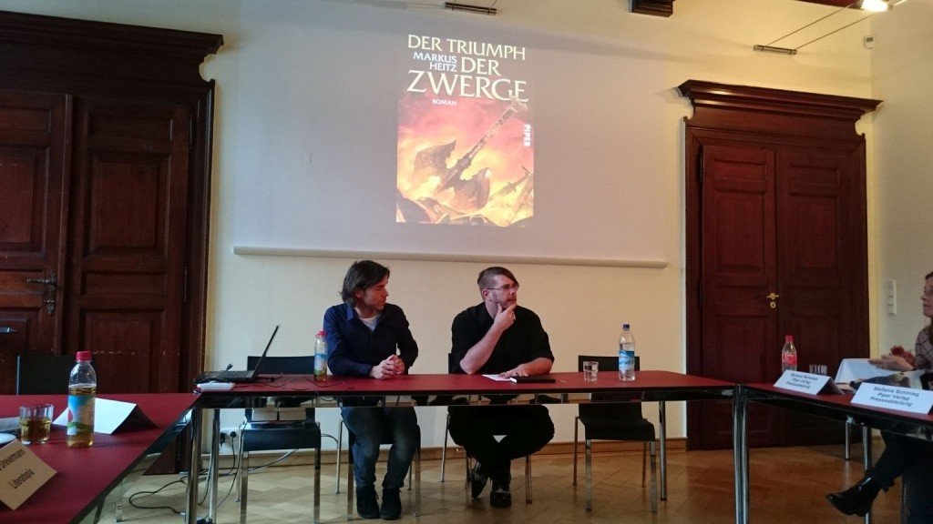 Piper Fantasy Tag 2015 mit Markus Heitz