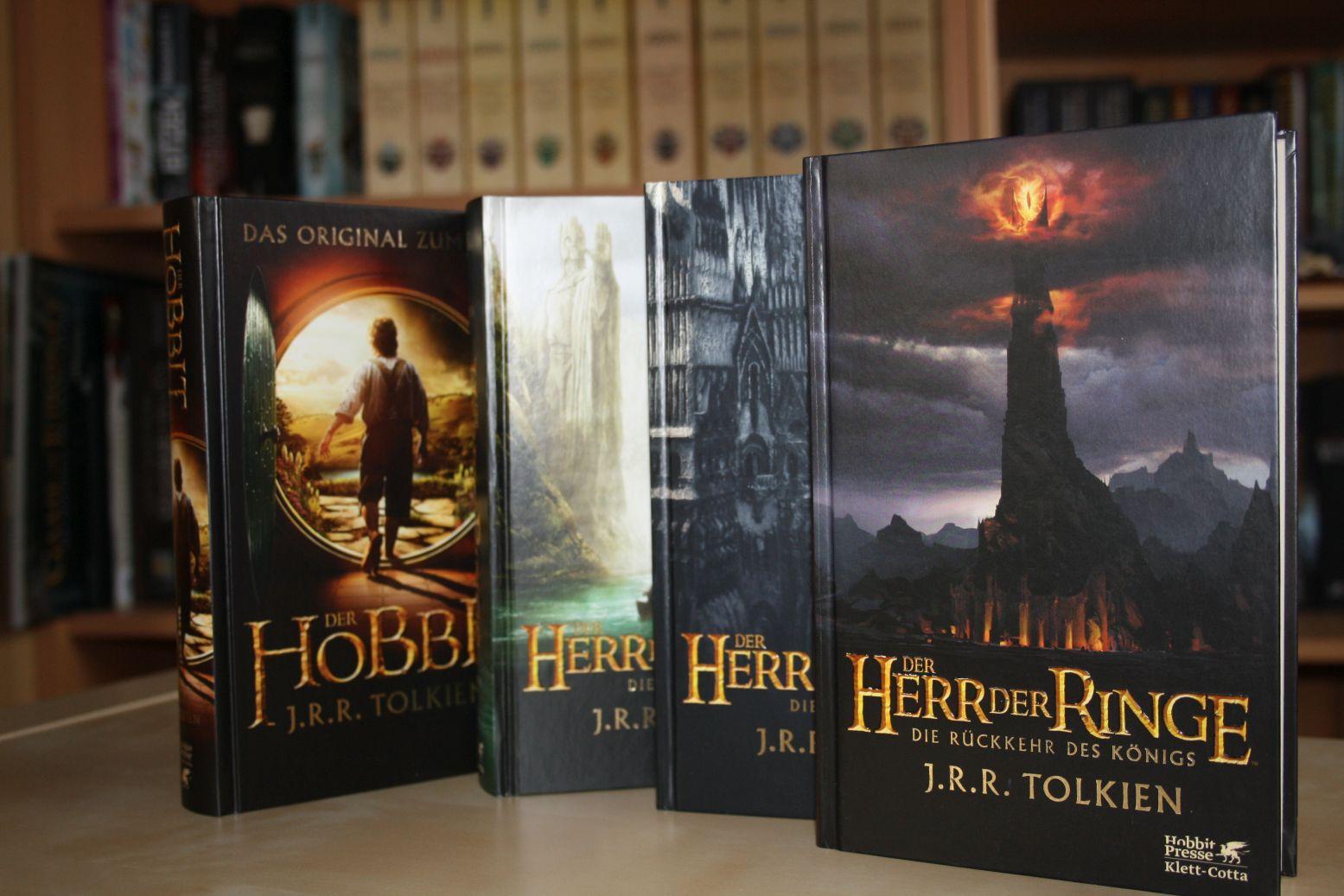 Der Herr der Ringe und Der Hobbit von J. R. R. Tolkien