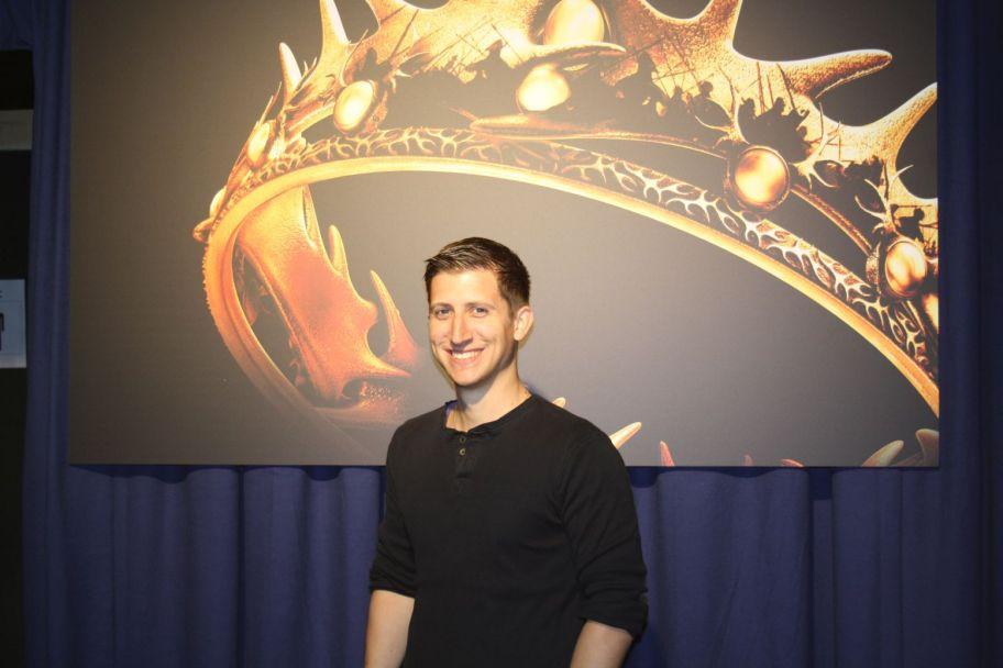 Ich auf der Game of Thrones Exhibition 2015 in Berlin