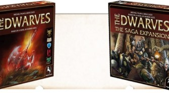 The Dwarves Boardgame - (c) Pegasus Spiele
