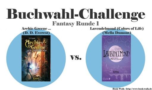 Archie Greene und die Bibliothek der Magie vs. Lavendelmond (Colors of Life)