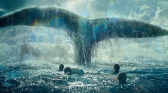 "A scene from Warner Bros. Pictures' and Village Roadshow Pictures' action adventure ""IN THE HEART OF THE SEA,"" distributed worldwide by Warner Bros. Pictures and in select territories by Village Roadshow Pictures. © 2015 WARNER BROS. ENTERTAINMENT INC. AND RATPAC-DUNE ENTERTAINMENT LLC ALL RIGHTS RESERVED"