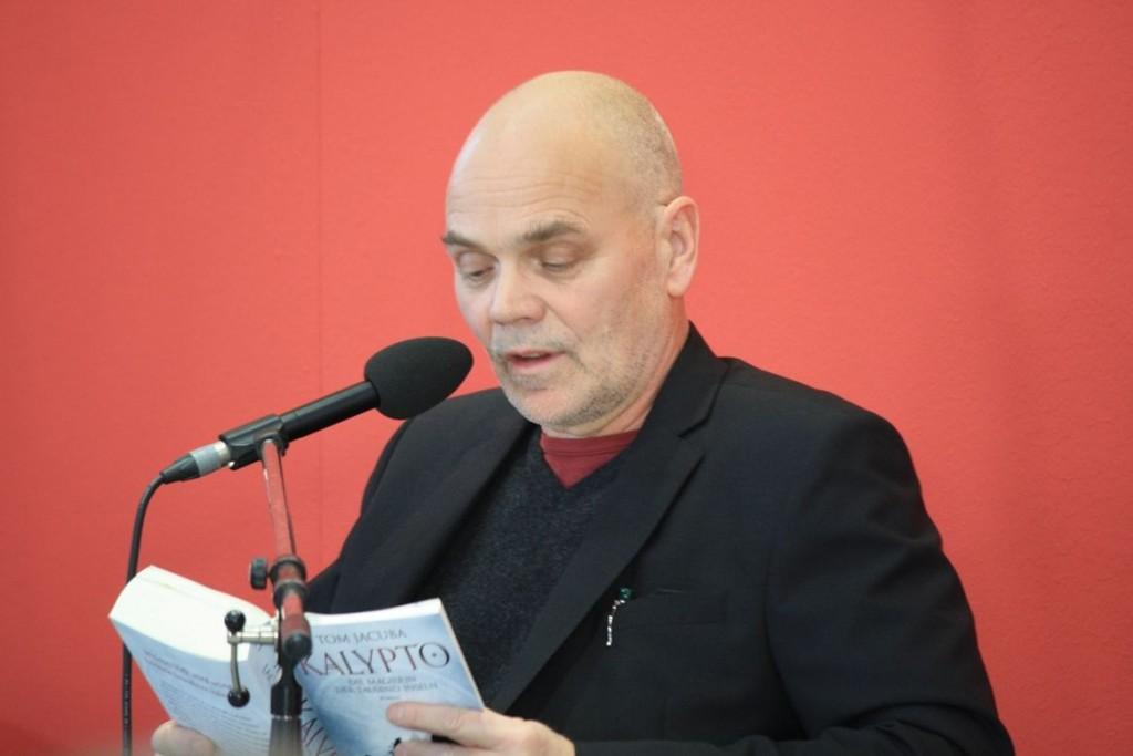 Tom Jacuba liest aus seinem Fantasy-Roman Kalypto