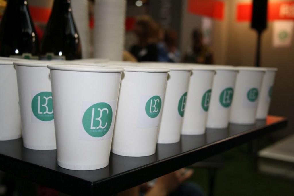 Kleine Vorstellungsrunde und Versorgung bei der Vorstellung der #LitBlogCon