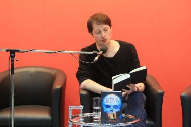 Björn Springorum stellt seinen Roman Der Ruf des Henkers vor