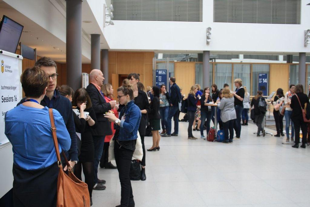 Get together bei den blogger:sessions auf der #LBM16 - Konstruktiver und gemeinschaftlicher Austausch