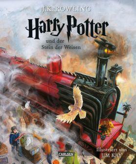 Book Cover: Harry Potter und der Stein der Weisen. Illustrierte Schmuckausgabe
