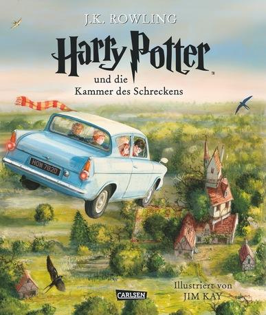 Book Cover: Harry Potter und die Kammer des Schreckens. Illustrierte Schmuckausgabe